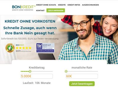 Bon Kredit Stiftung Warentest